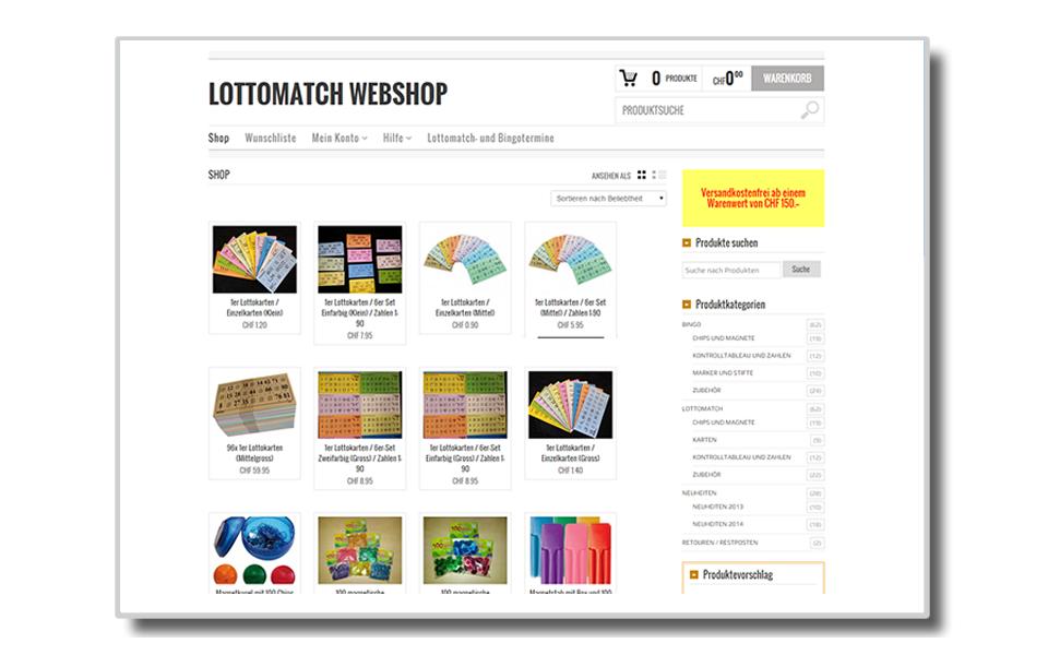 Lotto-Shop | Lottomatch-Shop | Bingo-Shop