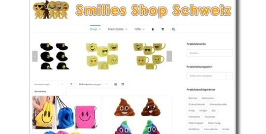 Smilies Shop Schweiz